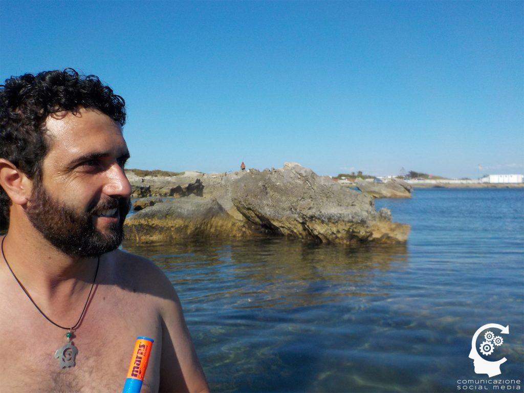 Paolo Balistreri novello Poseidone