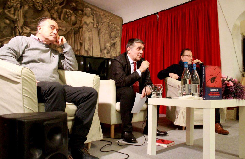 Nicola Gratteri, Pierluigi Senatore e Antonio Nicaso | Copyright © Sandro Capatti Photoreporter