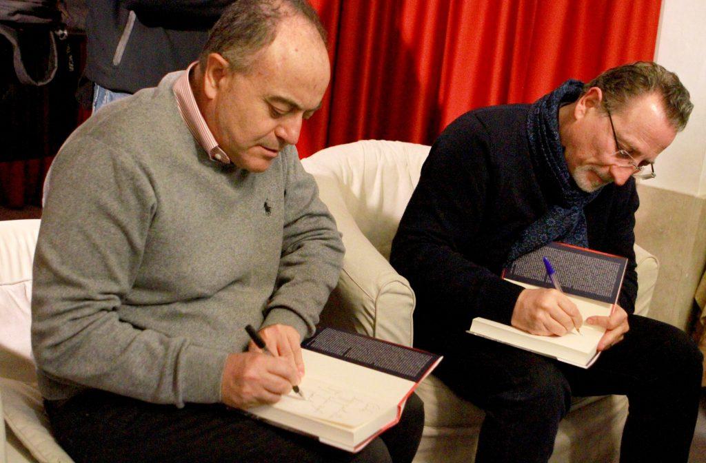 Nicola Gratteri & Antonio Nicaso | Copyright © Sandro Capatti Photoreporter