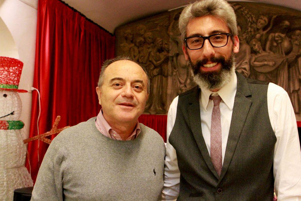 Nicola Gratteri con Alberto Maieli | Copyright © Sandro Capatti Photoreporter
